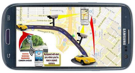 نرم افزار هشدار دهنده دوربین کنترل سرعت MySpeed v5.1.2 - آندروید