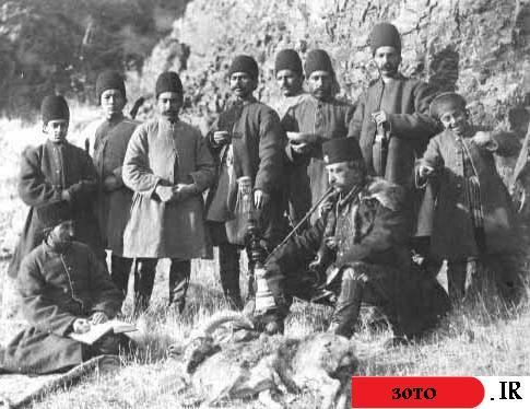 ناصرالدین شاه در خرم آباد